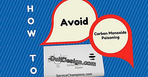 How to avoid carbon monoxide poisoning?
