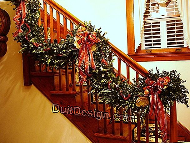 DIY: making garlands to decorate the Christmas tree