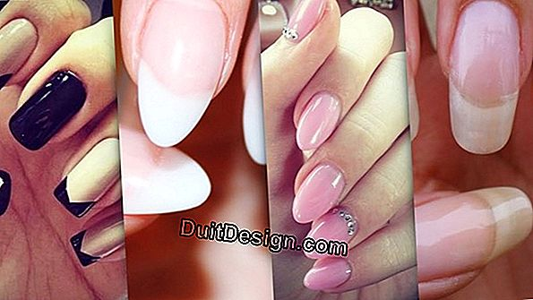 The different types of nails