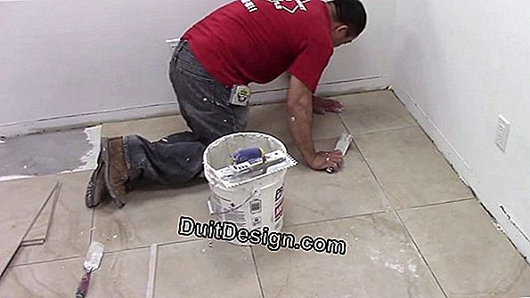 Grouting drywall