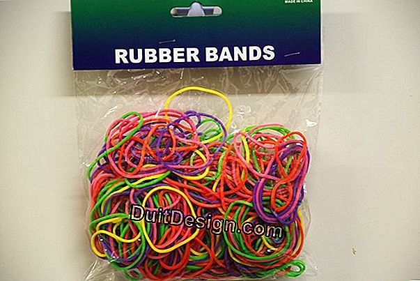 Paint colored bands