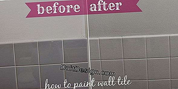 Paint wall tile