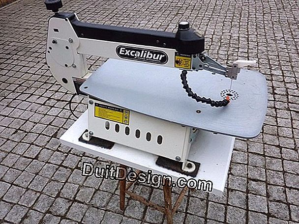 Excalibur Ex21 Scroll Saw dari General