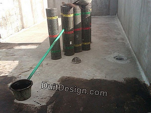 Waterproofing teras atap