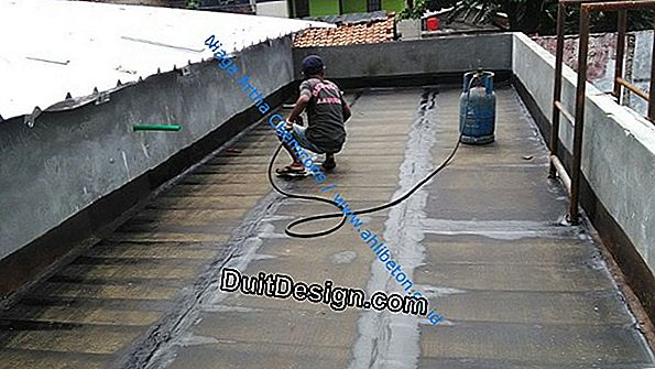 Waterproofing atap