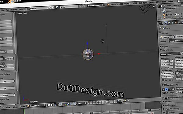 Buat dengan printer 3D di Blender: tutorial video