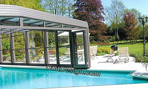 Sliding pool enclosure: pembuka à la carte