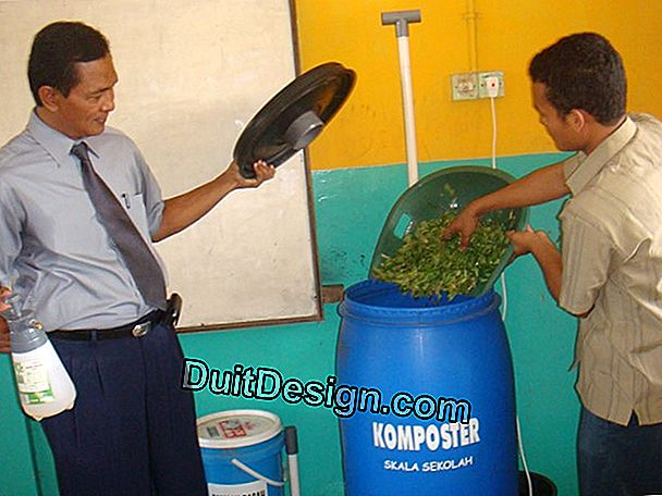 Tutorial: membuat komposter 300 liter