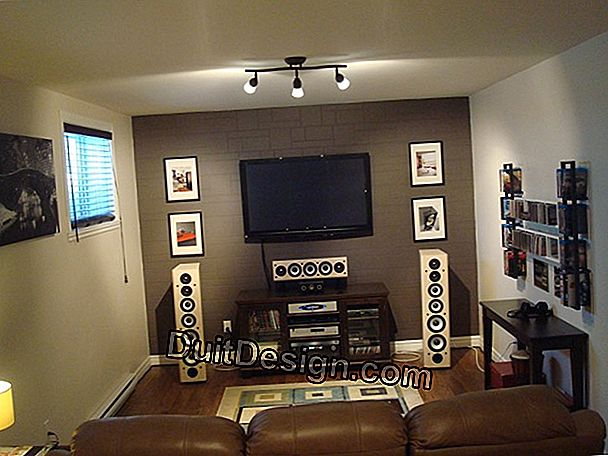 Folder home theater: sistem suara
