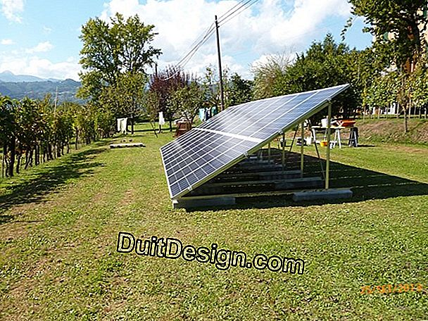 Pannelli fotovoltaici in