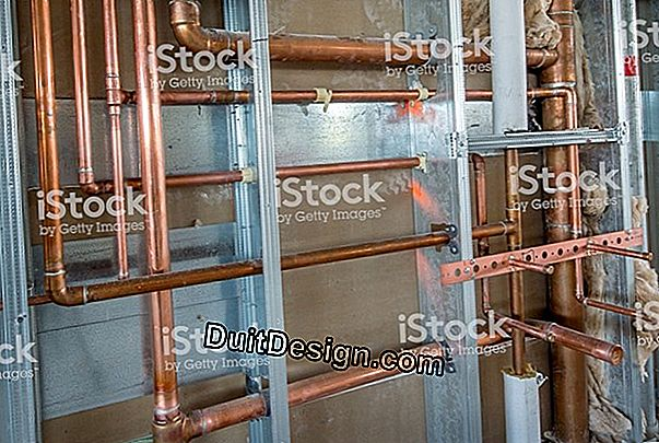 Plumbing in multistrato: apparente posa
