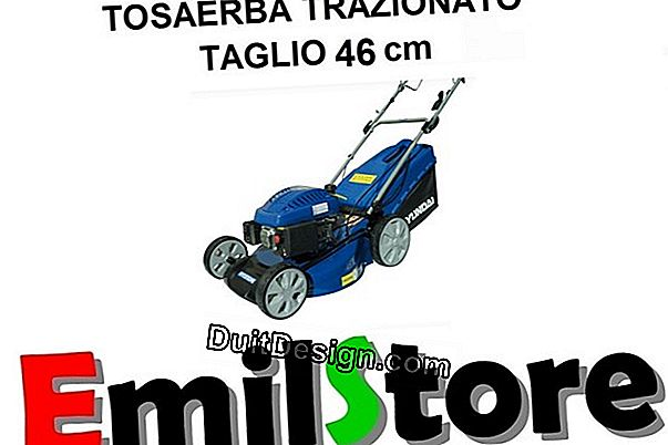 Tosaerba: espulsione, pick-up