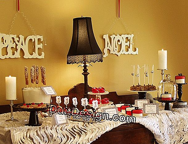 10 Idee decorative per decorare la tavola di Natale