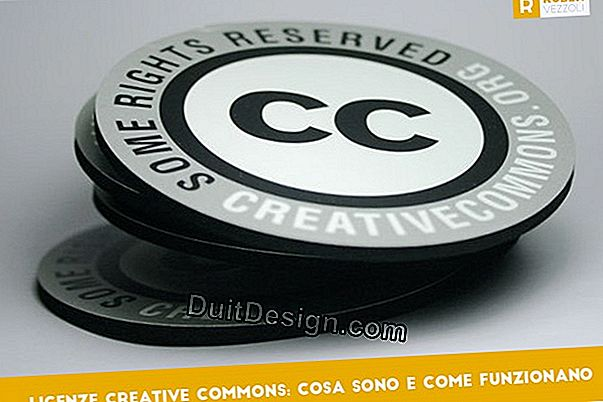 Tutto su licenze Creative Commons