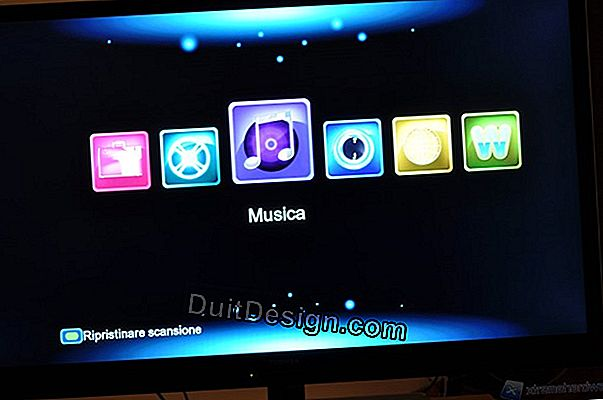 Cartella Home Theater: il sistema audio