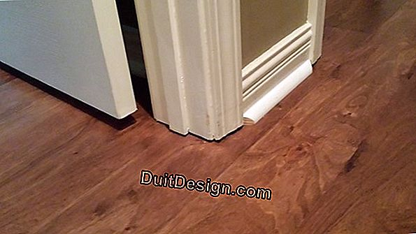 Lay baseboards