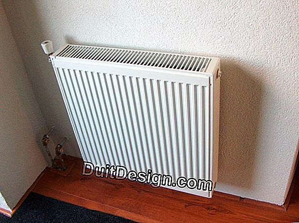 Radiator bertiup