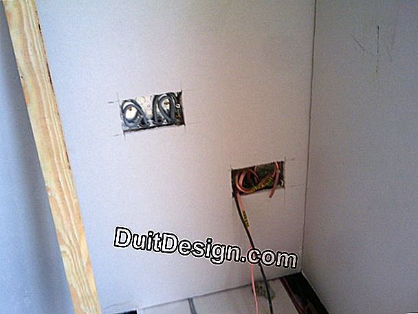 Plasterboard: buat partition melengkung