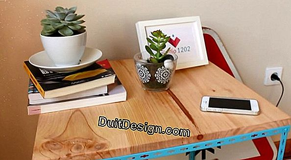 Tutorial: decorar um tampo de mesa estilo country