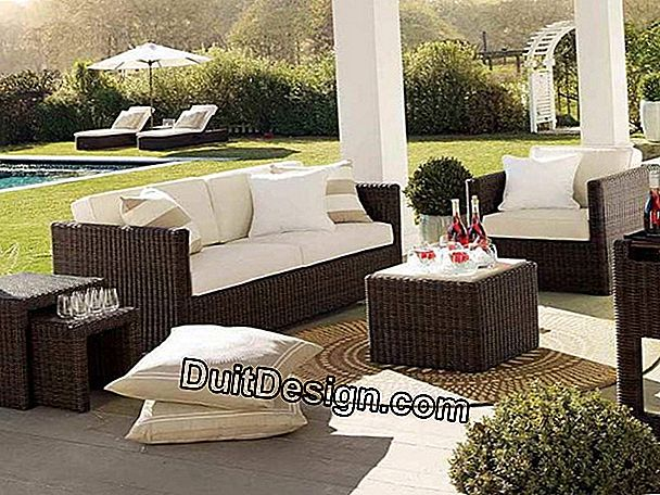 Wicker mobilier de gradina de AM.PM