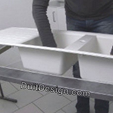 Presentation of the sink