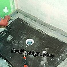 3 Steps to install a shower tray ready to tile: ready
