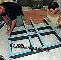 3 Steps to install a shower tray ready to tile: shower