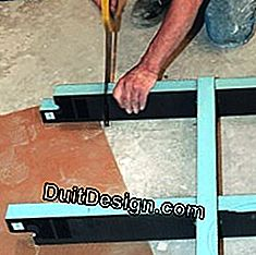 3 Steps to install a shower tray ready to tile: install