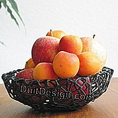 Fruit basket in 3D