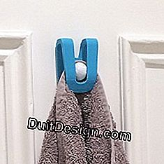 Practical towel holder