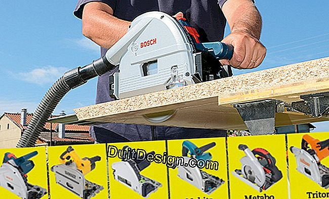 Test bench: the criteria of choice to buy a diving circular saw