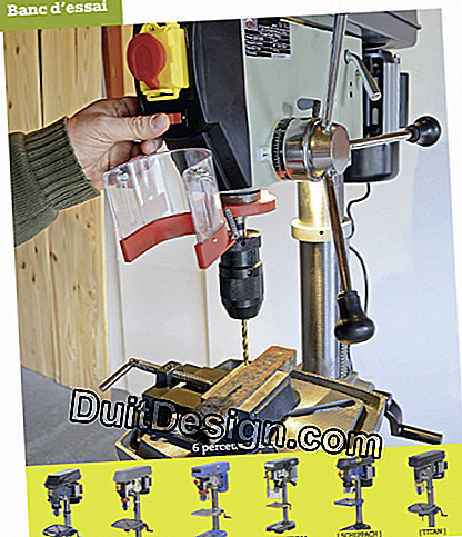 Criteria of choice for a drill press