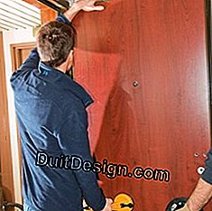 Put a door in renovation: frame