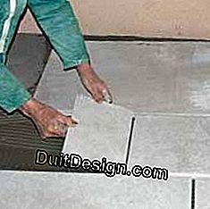 Insulating panels on the ground: ground