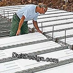 Insulating panels on the ground: insulating