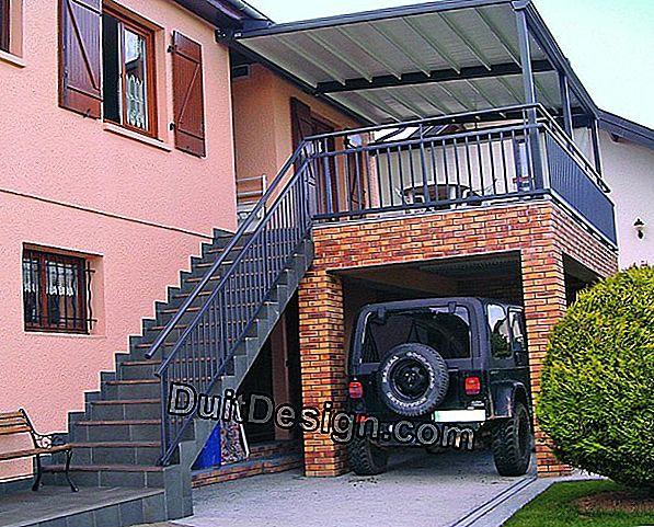 Verwandeln Sie Einen Balkon In Eine Terrasse Und Eine Garage 2019