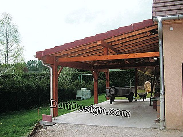 A carport made by an individual like a pro
