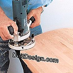 Sanding the edges of the board
