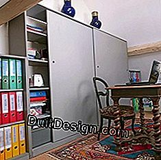 make a large cupboard and two shelves in medium