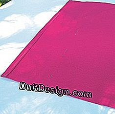 Sew the canvas for the deckchair