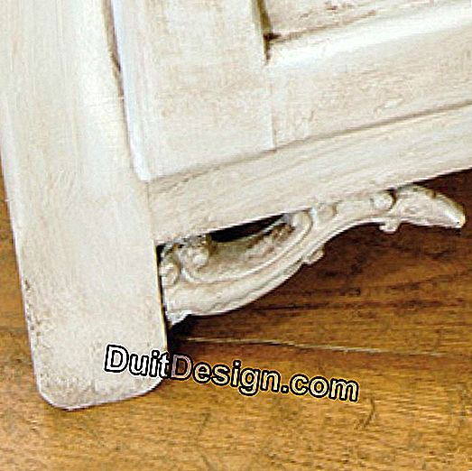 DIY: Transform a piece of furniture into a bed of charm: piece