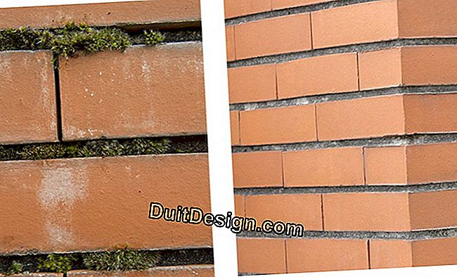 Before / After: Cleaning, renovation and protection of a brick wall