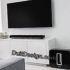 Home cinema without cable