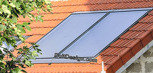 Installation of a solar water heater