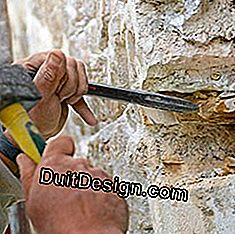 finish notching with a chisel