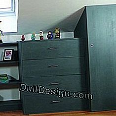Make a drawer cabinet