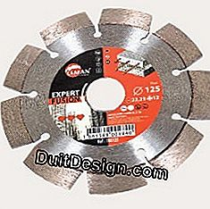 Diamond disc for grooving machine