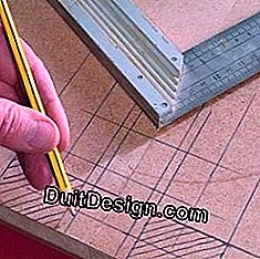 Building a piece of furniture: the importance of a precise layout