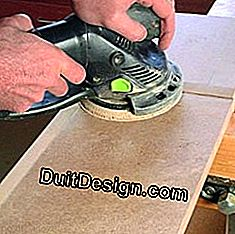 Sand MDF boards