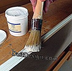 Prepare MDF boards before painting
